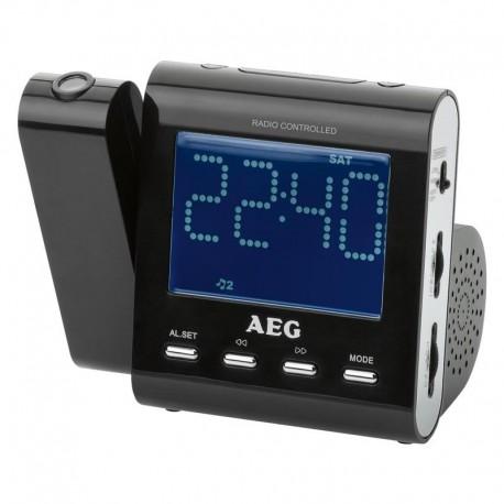 Radiobudzik AEG MRC 4122 F N czarny