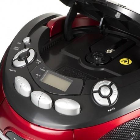 Radioodtwarzacz przenośny AEG SR 4353 czerwono-czarny