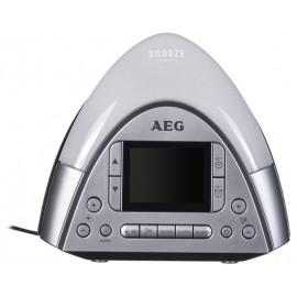 Radiobudzik AEG SRC 4113 srebrny