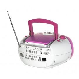 Radioodtwarzacz Blaupunkt BB15PK Różowo-szary